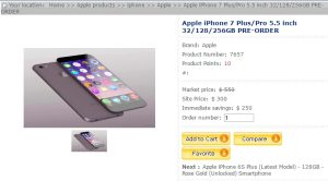 iPhone 7 Plus for $300 , obviously a scam