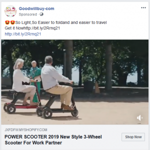 Facebook ad scam: jxfdfw.myshopify.com